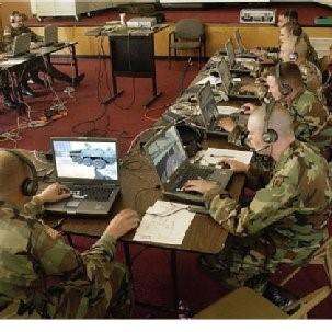 Wargames. Serious games werden oorspronkelijk ontwikkeld voor het Amerikaanse ministerie van Defensie